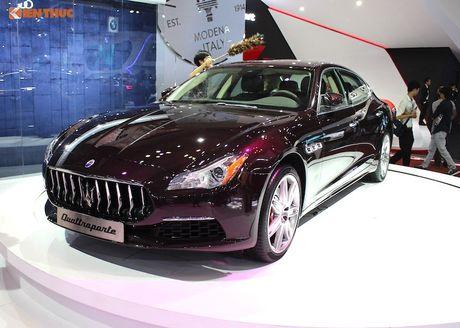 'Xe sang' Maserati Quattroporte 2017 gia 7,912 ty dong - Anh 1