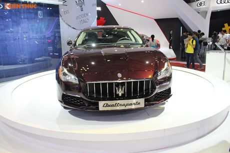 'Xe sang' Maserati Quattroporte 2017 gia 7,912 ty dong - Anh 3