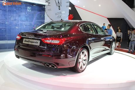 'Xe sang' Maserati Quattroporte 2017 gia 7,912 ty dong - Anh 4