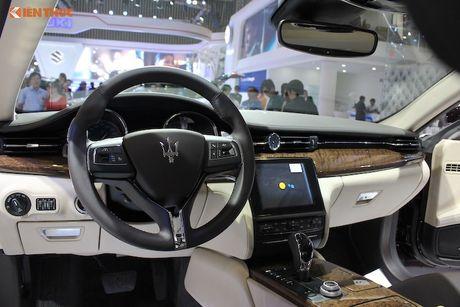 'Xe sang' Maserati Quattroporte 2017 gia 7,912 ty dong - Anh 5