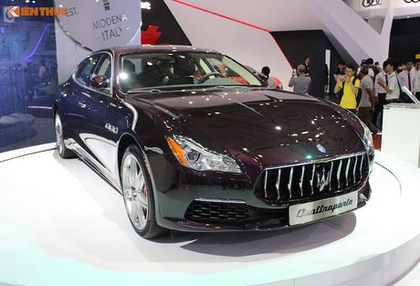 'Xe sang' Maserati Quattroporte 2017 gia 7,912 ty dong - Anh 9