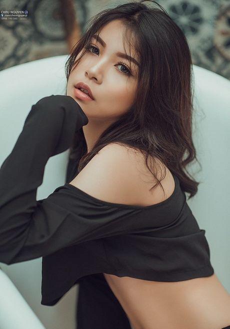 Nu sinh Ha thanh 14 tuoi khoe anh tao bao khong tuong - Anh 3