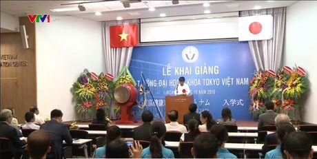 Dai hoc Y khoa Tokyo Viet Nam khai giang khoa dau tien - Anh 1