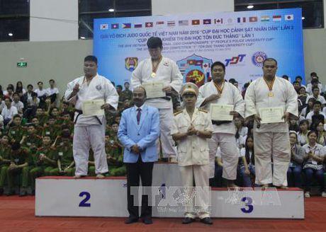 Khai mac Giai vo dich Judo quoc te Viet Nam nam 2016 - Anh 1