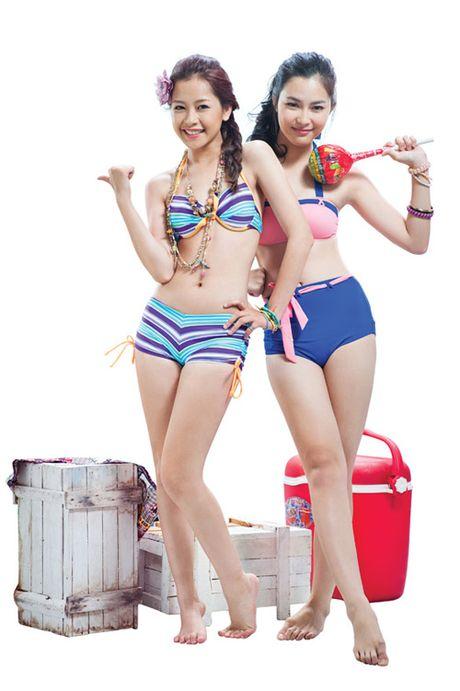 Chi Pu tu tin dien bikini du bi gan mac 'hot girl nguc lep' - Anh 2