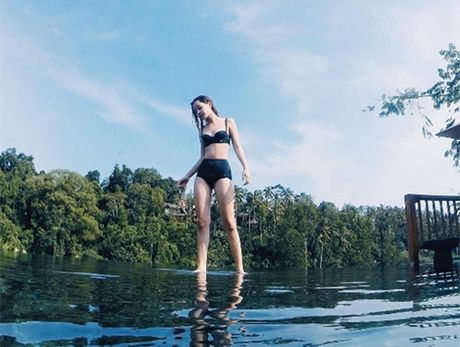 Chi Pu tu tin dien bikini du bi gan mac 'hot girl nguc lep' - Anh 6