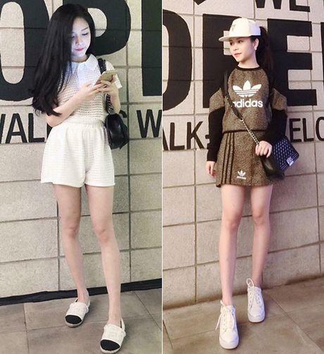 3 hot girl chu shop da lam me van kute nhu hoc sinh cap 2 - Anh 3