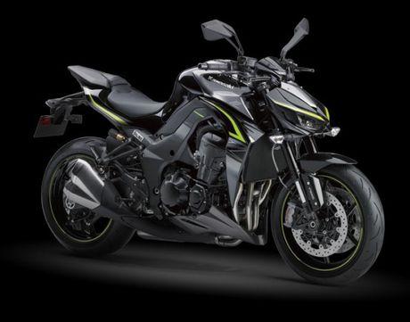 Kawasaki Z1000 R Edition 2017- 'Quai thu' da lo dien - Anh 1
