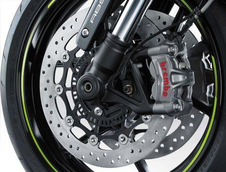 Kawasaki Z1000 R Edition 2017- 'Quai thu' da lo dien - Anh 3