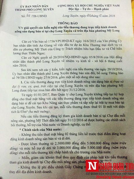Ep tieu thuong di doi cho: TP.Long Xuyen khong minh bach (3) - Anh 3