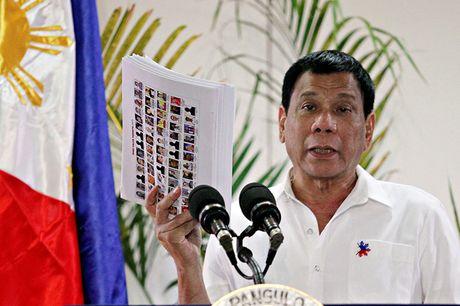 Philippines: 10 doi tuong bi ban chet lien quan den duong day van chuyen ma tuy - Anh 1