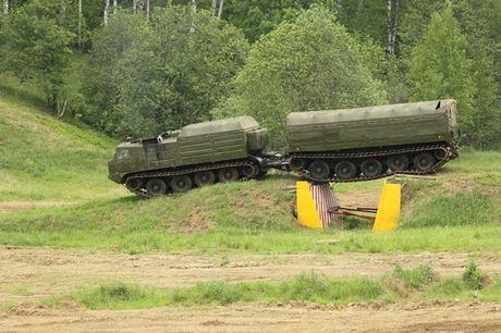 Kha nang dac biet cua 'vua xe dia hinh' banh xich S-300 Vityaz - Anh 14