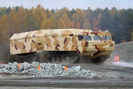 Kha nang dac biet cua 'vua xe dia hinh' banh xich S-300 Vityaz - Anh 24