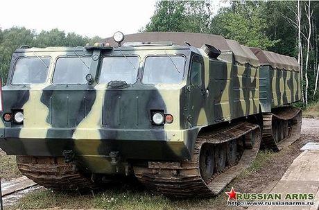 Kha nang dac biet cua 'vua xe dia hinh' banh xich S-300 Vityaz - Anh 5