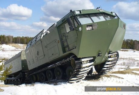 Kha nang dac biet cua 'vua xe dia hinh' banh xich S-300 Vityaz - Anh 7