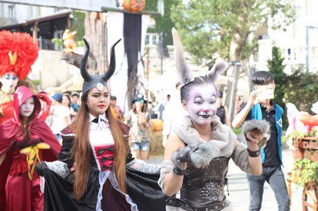 Thot tim voi Le hoi Halloween tai Ba Na Hills - Anh 6
