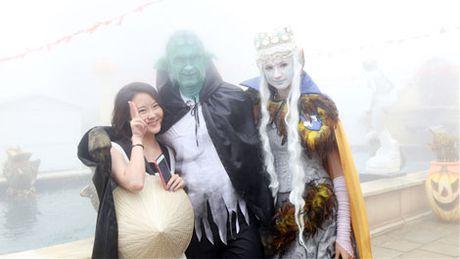 Thot tim voi Le hoi Halloween tai Ba Na Hills - Anh 7