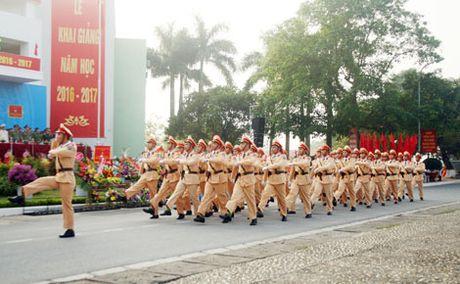 Truong Cao dang CSND I khai giang nam hoc moi - Anh 1