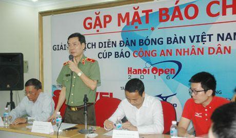 800 VDV tham du Giai vo dich Dien dan bong ban Viet Nam tranh Cup Bao CAND - Anh 1
