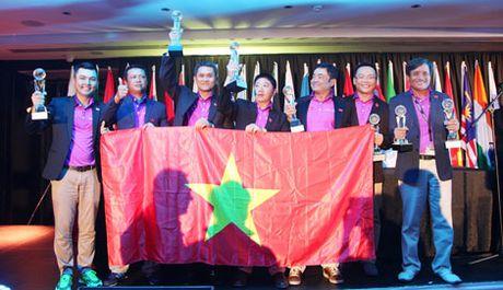 Doi tuyen Golf Viet Nam gianh vi tri A quan o WAGC 2016 tai Nam Phi - Anh 1
