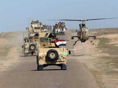 Chien dich tan cong giai phong Mosul bong nhien bi dung - Anh 1