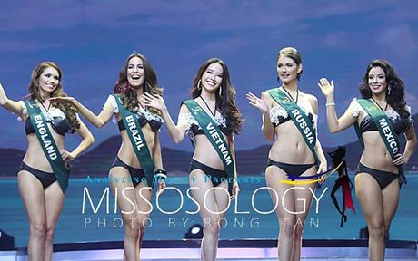 Nam Em lot top 8 Miss Earth - Hoa hau trai dat 2016 - Anh 6