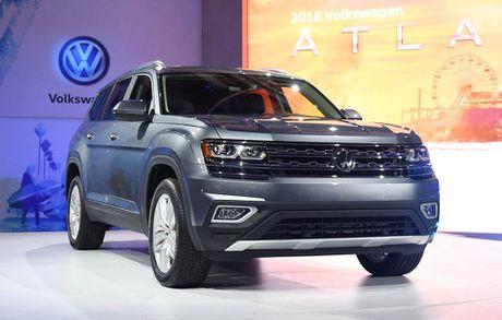 Can canh Volkswagen Atlas 2018 hoan toan moi, doi thu Toyota Highlander - Anh 4