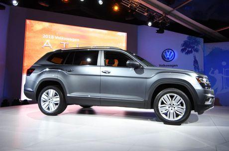Can canh Volkswagen Atlas 2018 hoan toan moi, doi thu Toyota Highlander - Anh 5