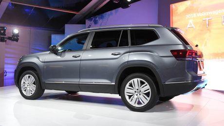 Can canh Volkswagen Atlas 2018 hoan toan moi, doi thu Toyota Highlander - Anh 6