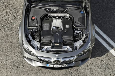 Ra mat 'sieu sedan' Mercedes AMG E 63 2017 nhanh tua sieu xe - Anh 4