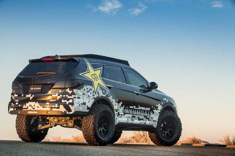 Do Hyundai Santa Fe thanh chien binh offroad hang nang - Anh 4