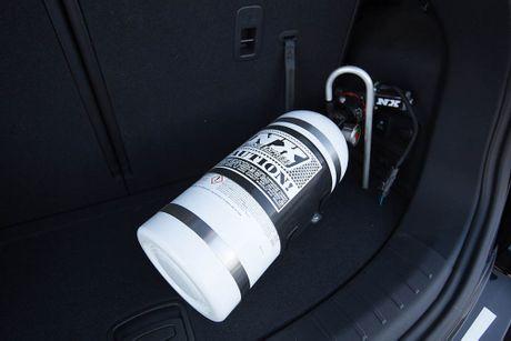 Do Hyundai Santa Fe thanh chien binh offroad hang nang - Anh 9