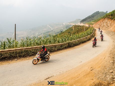 Hanh trinh chinh phuc Ha Giang cung Honda Winner - Anh 3