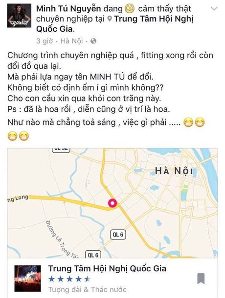 Mac lum xum doi vay, Lan Khue van tu tin toa sang tren san dien runway - Anh 2