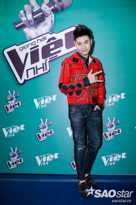 Mac ap luc, Noo Phuoc Thinh van cu dang yeu trong hau truong Chung Ket The Voice Kids - Anh 3