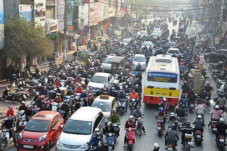 Nam 2030 moi cam xe may trong noi do Ha Noi - Anh 1