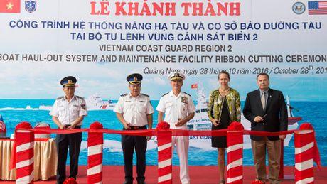 Khanh thanh co so bao tri tau Canh sat bien Viet Nam - Anh 2
