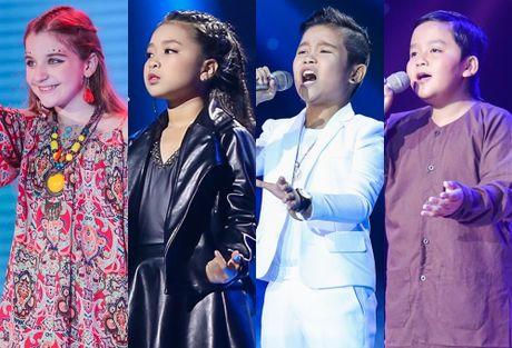 Chung ket Voice Kids lan dau co 4 thi sinh tranh 300 trieu - Anh 4