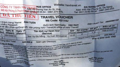 TTGT Da Nang mat phuc, bat nong 2 xe HAV don khach le - Anh 3