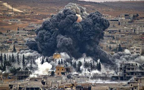 Syria: Lien quan cua My dang khien IS roi Iraq den Syria - Anh 1