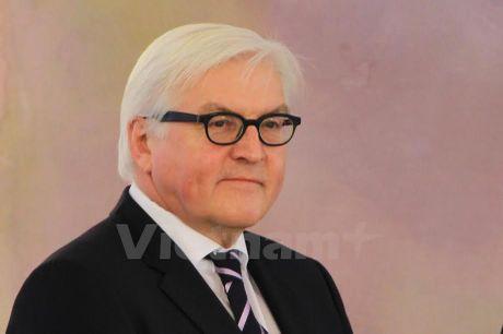 Bo truong Ngoai giao Steinmeier danh gia cao quan he Viet Nam-Duc - Anh 1