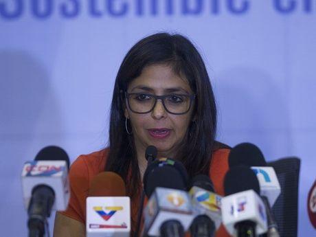 Chinh phu Venezuela va phe doi lap nhat tri tien hanh doi thoai - Anh 1