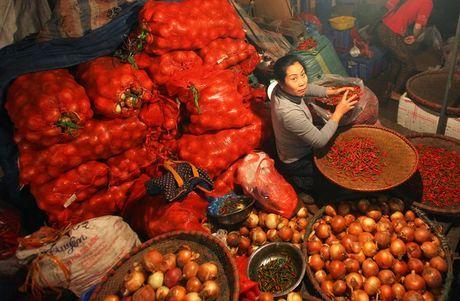 Kham pha khu cho rau qua dem tap nap, re nhat o Ha Noi - Anh 4