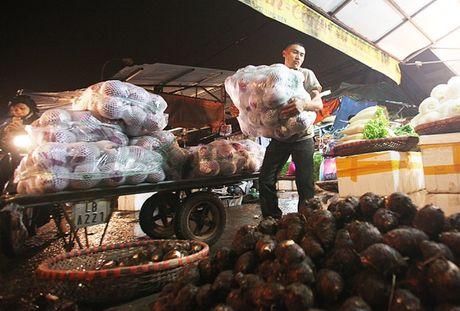 Kham pha khu cho rau qua dem tap nap, re nhat o Ha Noi - Anh 5