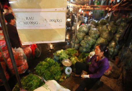 Kham pha khu cho rau qua dem tap nap, re nhat o Ha Noi - Anh 6