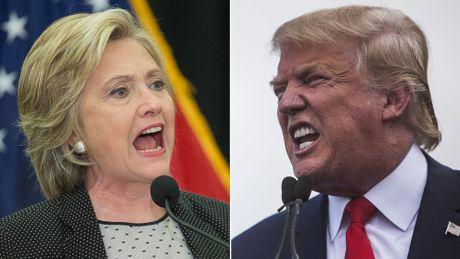 Bau cu My: Donald Trump but pha thu hep khoang cach voi ba Hillary Clinton - Anh 1