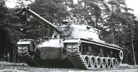 Anh hiem xe tang M48A2 cua Tay Duc nam 1970 - Anh 1