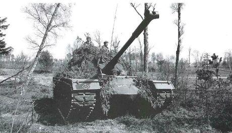 Anh hiem xe tang M48A2 cua Tay Duc nam 1970 - Anh 2