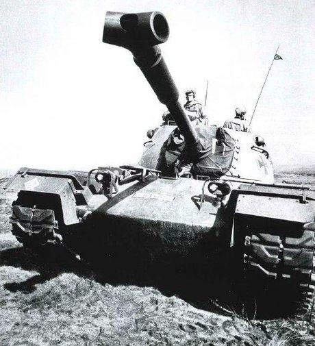 Anh hiem xe tang M48A2 cua Tay Duc nam 1970 - Anh 3