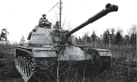 Anh hiem xe tang M48A2 cua Tay Duc nam 1970 - Anh 4